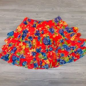 {Abercrombie & Fitch} Cute Ruffled Skirt